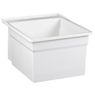 L7100 Laundry Tub Shown in White (100)