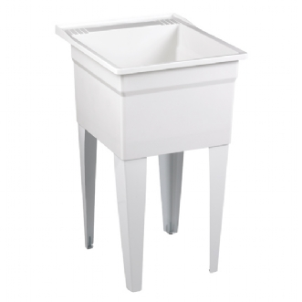 FL7100 Laundry Tub Shown in White (100)