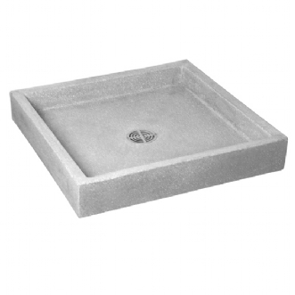 Berkeley Square Mop Service Sink Shown in Grey (501)