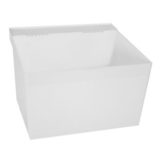 L1 Laundry Tub Shown in White (100)